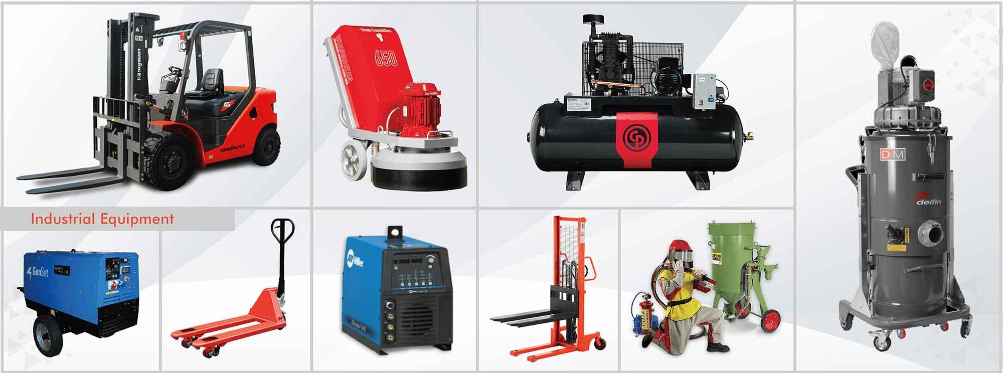 industrial equipment dealer in oman