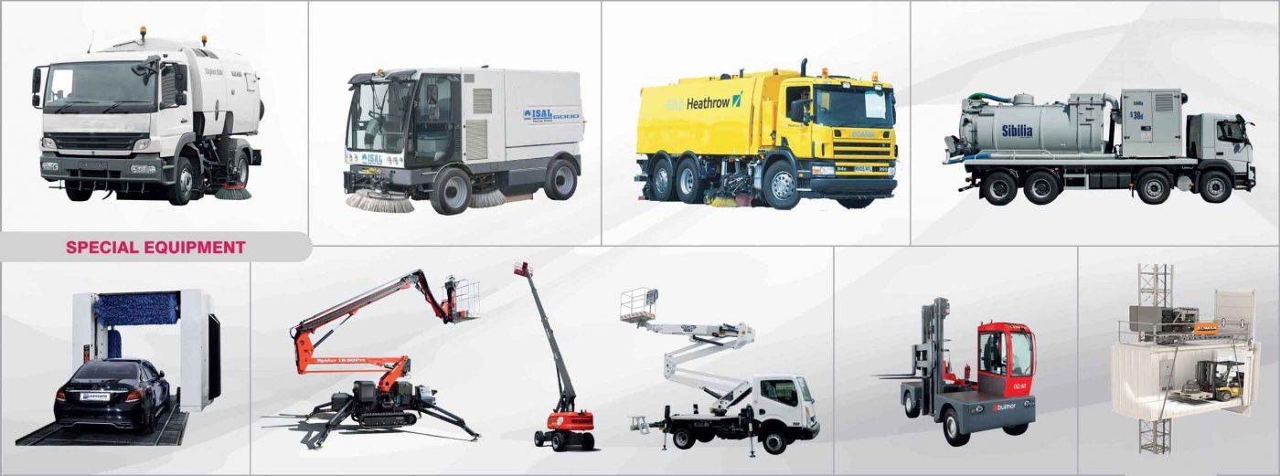 special equipment dealer in oman