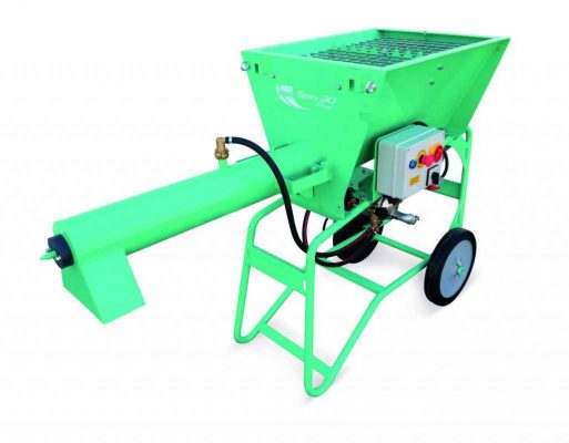 Mortar mixer for construction works in oman