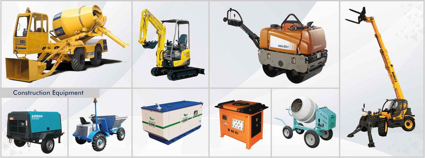 construction equipment dealer in oman
