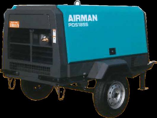 Diesel driven Screw Air compressor
