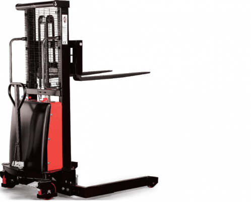 SEMI-ELECTRIC-STACKER-WITH-BASE-LEGS