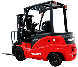 four wheeled electric forklift