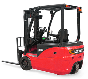three wheeled electric forklift