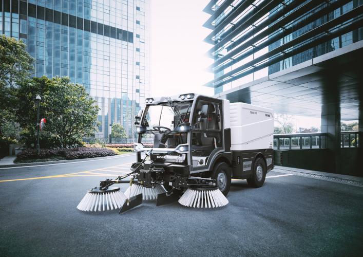 compact road sweeper dealer in oman BUCHER V20