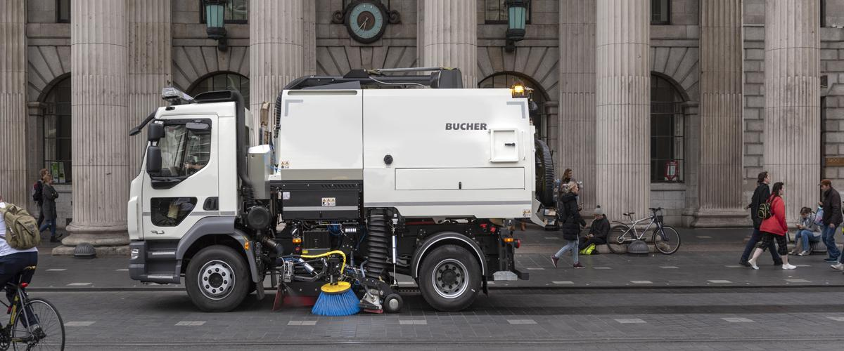 truck mounted road sweeper dealer in oman BUCHER V50