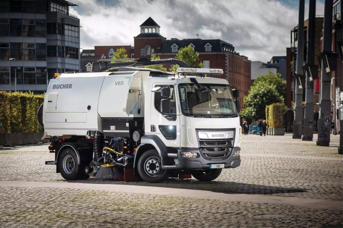 Bucher V65 truck mounted sweeper dealer in oman