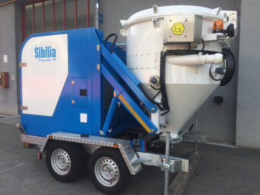 Cetralized Vacuum Machine Dealer in Oman Dragonfly 40