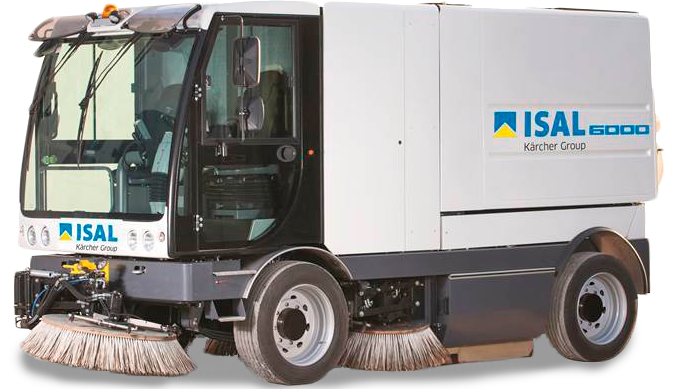 ISAL 6000 industrial road sweepers in oman
