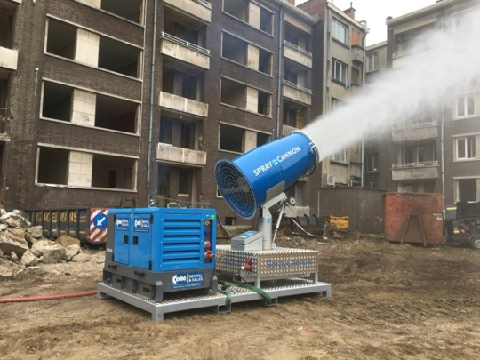 Fog Cannon for dust control in oman