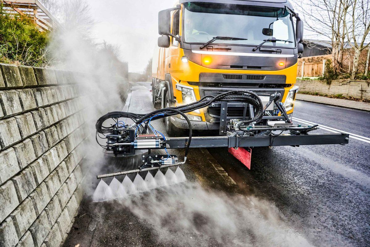 Road sweeper - Bucher XPowa V140 dealer in oman