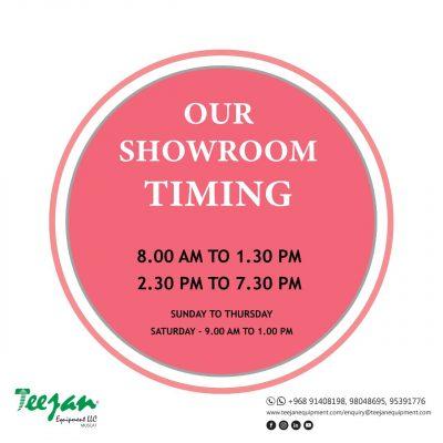 Teejan Equipment open in Oman