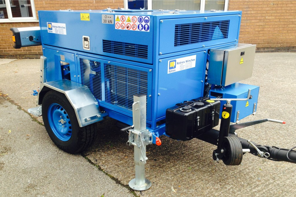 Trailer Mounted Winches in Muscat