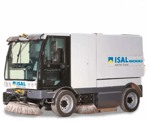 Road Sweeper dealer in oman ISAL 600