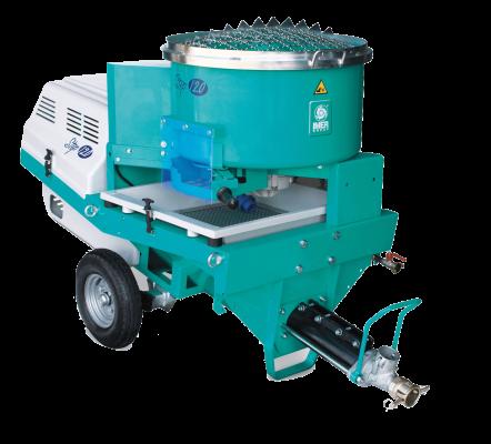 Step120 Mortar & Concrete Spraying Machine in Oman