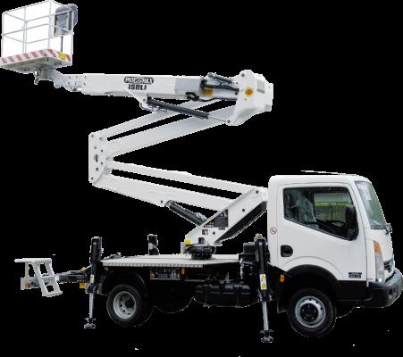 Truck Mounted Aerial Work Platform Dealer in Oman