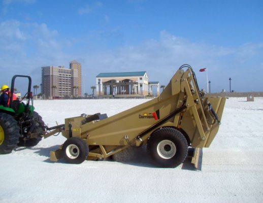 beach cleaning machine for sale