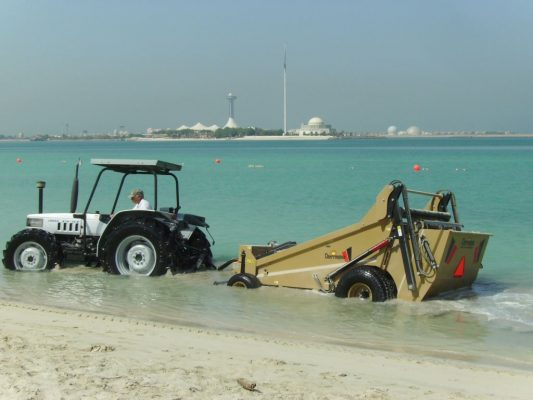 beach cleaning machine price in oman