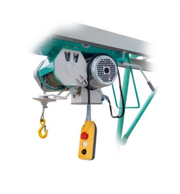 electric hoist for rent in oman